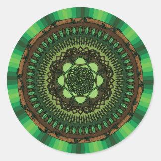 Earth Mandala Sticker