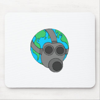 Earth (Masked) Mouse Mat