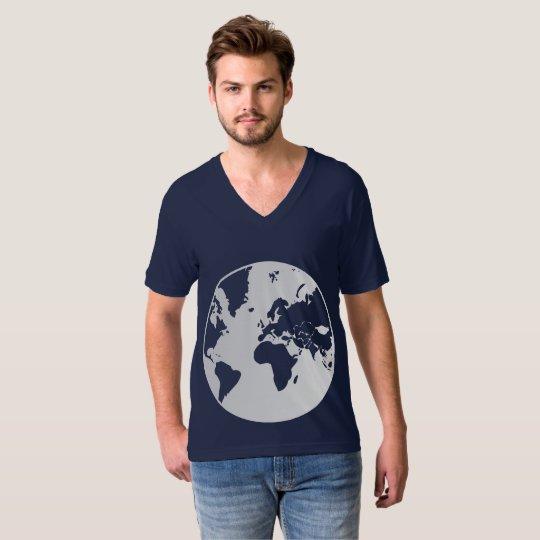 Earth / Men's American Apparel Fine Jersey V-neck