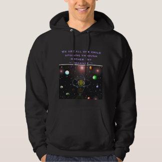 Earth mens hoodie