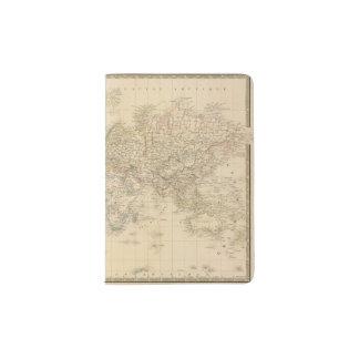 Earth Mercator proj Passport Holder