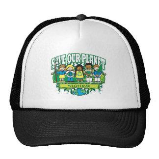 Earth Michigan Cap