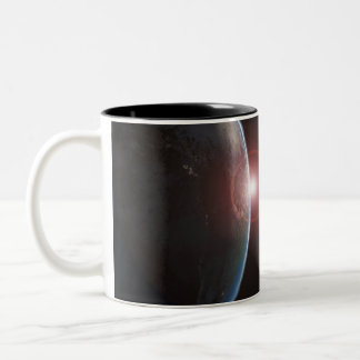 Earth-morning688 Planet Earth viewed from space in Mugs