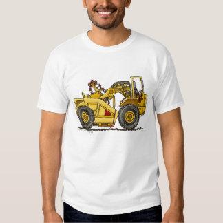 Earth Mover Pan Scraper Construction Apparel T-shirt