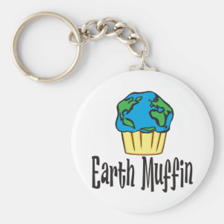 Earth Muffin Key Ring