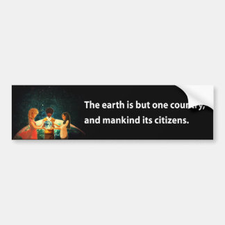 Earth One Country Car Bumper Sticker