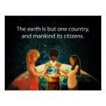 Earth One Country Poster