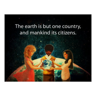 Earth One Country Print