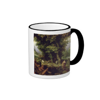 Earth or The Earthly Paradise, 1607-08 (oil on cop Ringer Mug