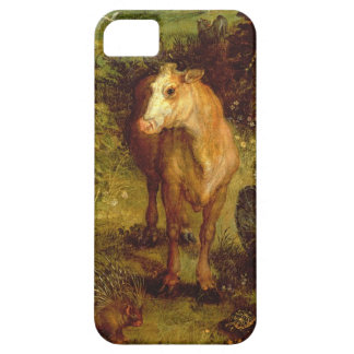Earth or The Earthly Paradise, detail of a cow, po Case For The iPhone 5
