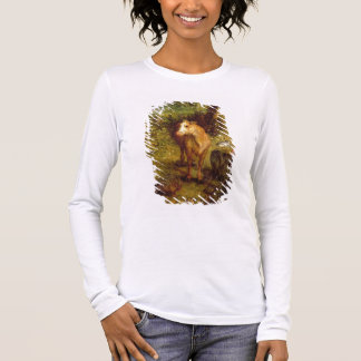 Earth or The Earthly Paradise, detail of a cow, po Long Sleeve T-Shirt