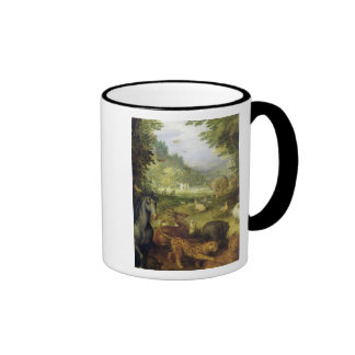 Earth, or The Earthly Paradise, detail of Ringer Mug
