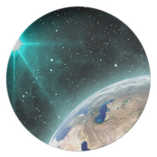 Earth Outer Space Plate