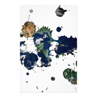 Earth Paint Personalized Stationery