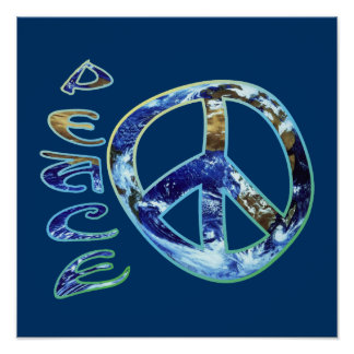 Earth Peace Poster