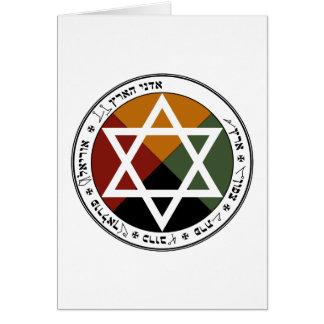 Earth Pentacle Card