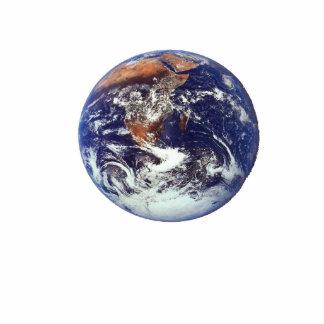 Earth Photo Sculpture Badge