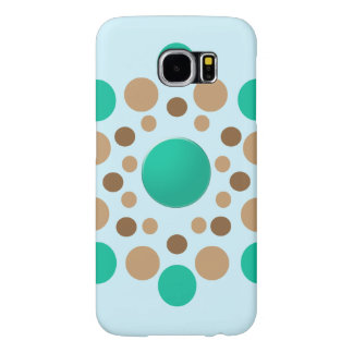 Earth Polka Dots Galaxy S6 Case
