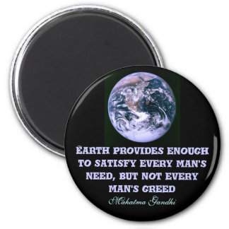 Earth provides magnet