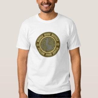 Earth Recycled Grunge Tee Shirt