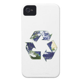 Earth - Recycling iPhone 4 Case