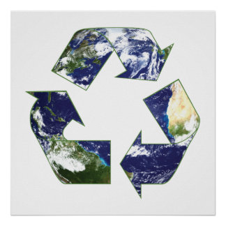Earth - Recycling Poster