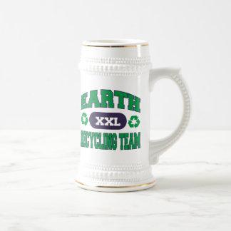 Earth Recycling Team Gift Coffee Mug