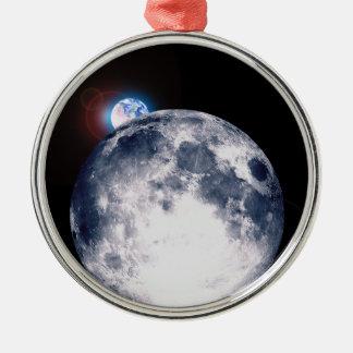 Earth Rise Christmas Ornament