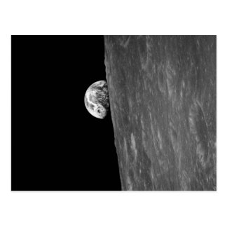 """Earth-Rise,"" First Photo of this from Space Postcard"