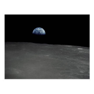 Earth Rise Postcard