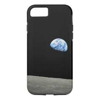 Earth Rises From Moon iPhone 8/7 Case