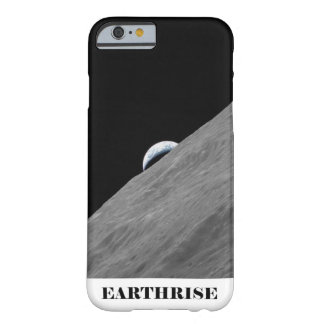 Earth Rising Above the Horizon of the Moon Barely There iPhone 6 Case