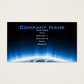 Earth Rising Business Card