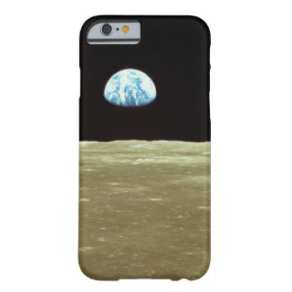 Earth rising over Moon Barely There iPhone 6 Case