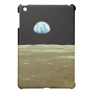Earth rising over Moon iPad Mini Case