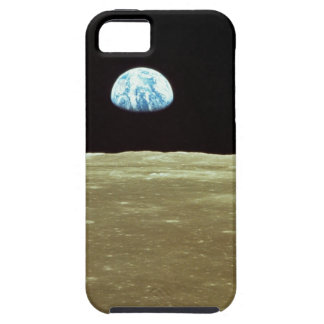 Earth rising over Moon iPhone 5 Cover