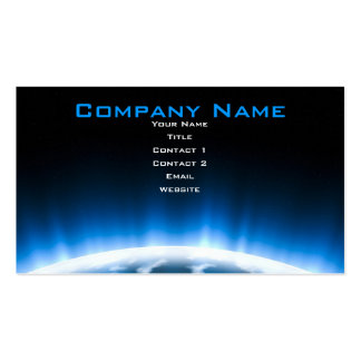 Earth Rising Pack Of Standard Business Cards