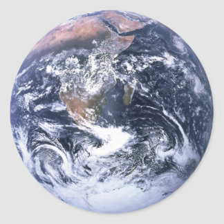 Earth Round Sticker