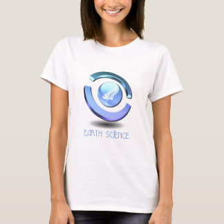 Earth Science Ladies Fitted T-Shirt