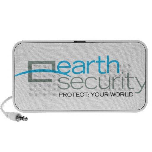 Earth Security  logo-wear PC Speakers