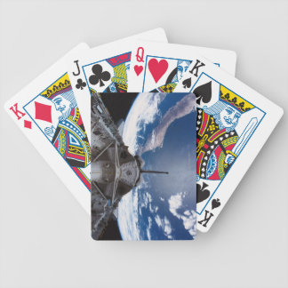 Earth seen from a Space Shuttle Bicycle Playing Cards