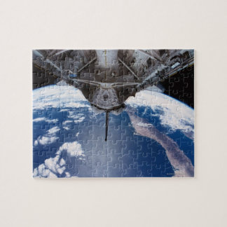 Earth seen from a Space Shuttle Jigsaw Puzzle