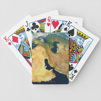 Earth Seen from Space Bicycle Playing Cards