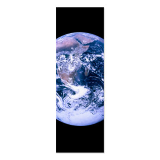 Earth Seen From Space Business Card Templates