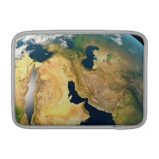 Earth Seen from Space MacBook Sleeve