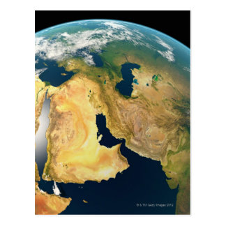 Earth Seen from Space Postcard