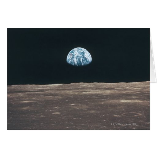 Earth Seen from the Moon Cards