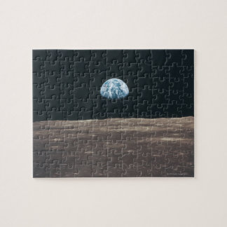 Earth Seen from the Moon Jigsaw Puzzle