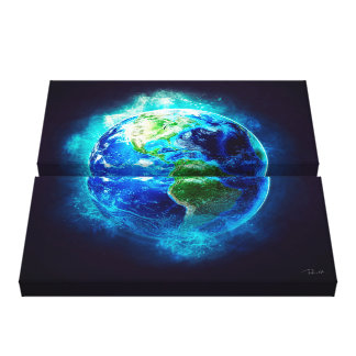 Earth Serenity Canvas Print