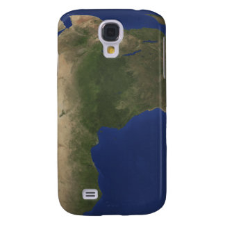 Earth showing landcover over Africa Galaxy S4 Case
